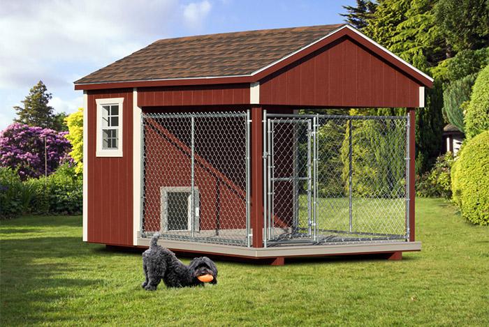 8x12 dog kennel