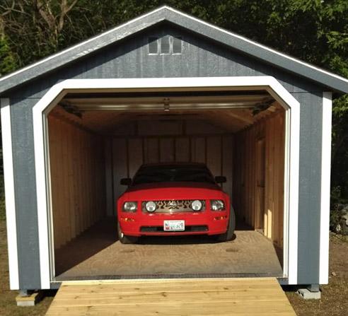 customer-owned garage