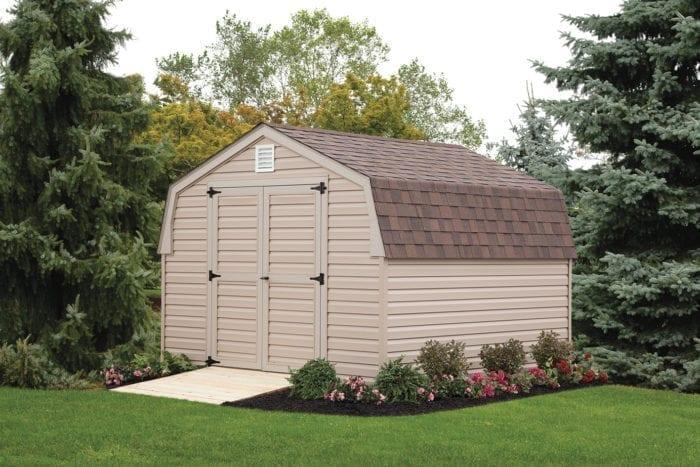 vinyl barn shed