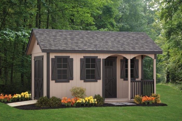 vinyl shed