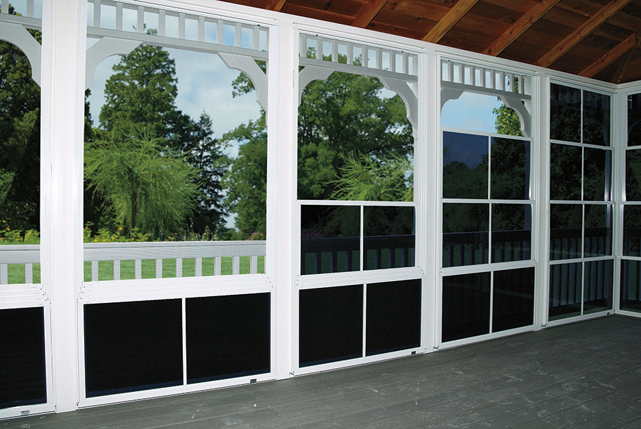 Vinyl Tec Windows With screens