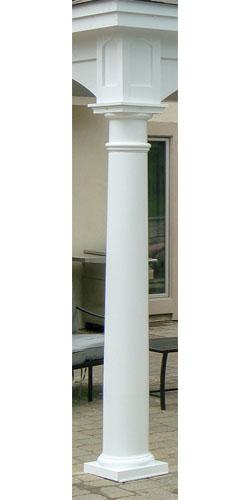 10″ Tapered Round Columns ($350 each)