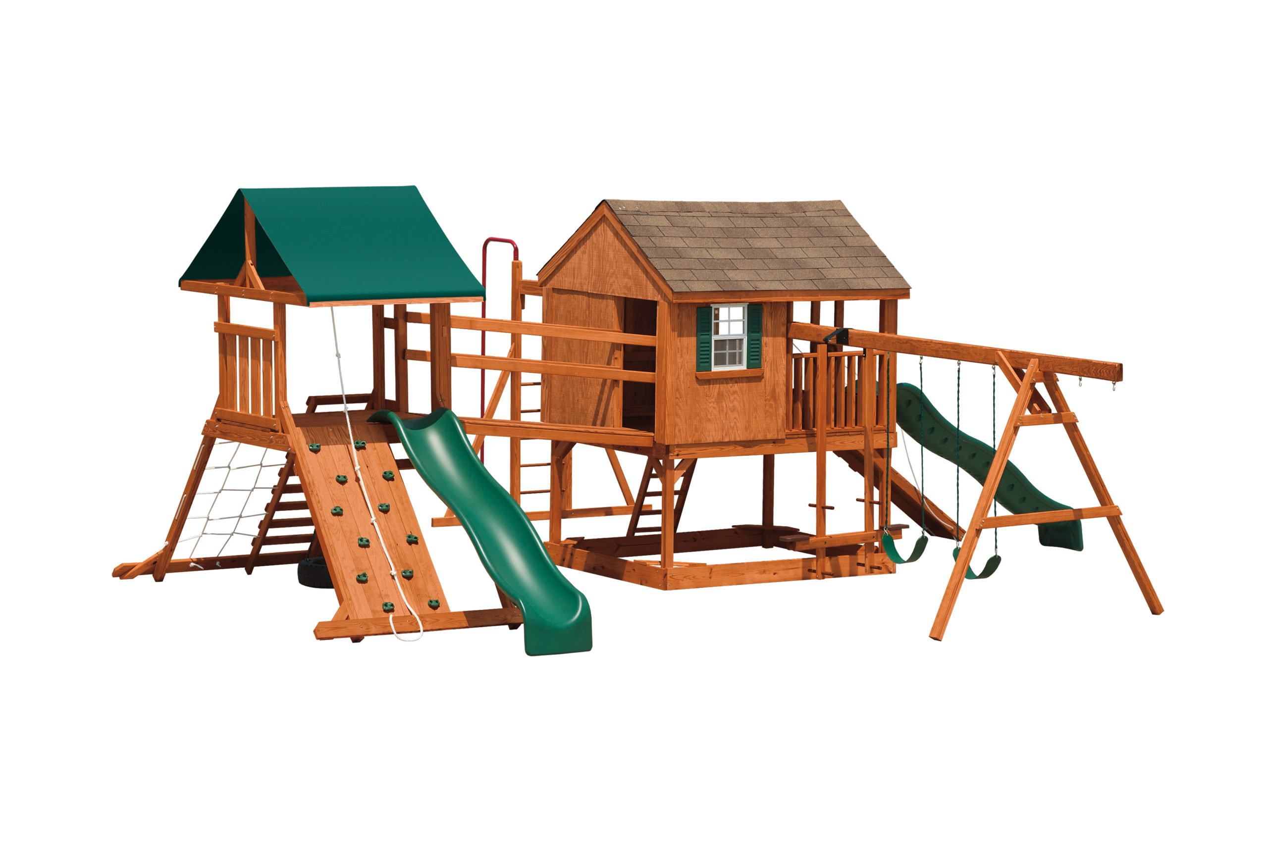 Swing Sets & Wooden Playsets for Kids