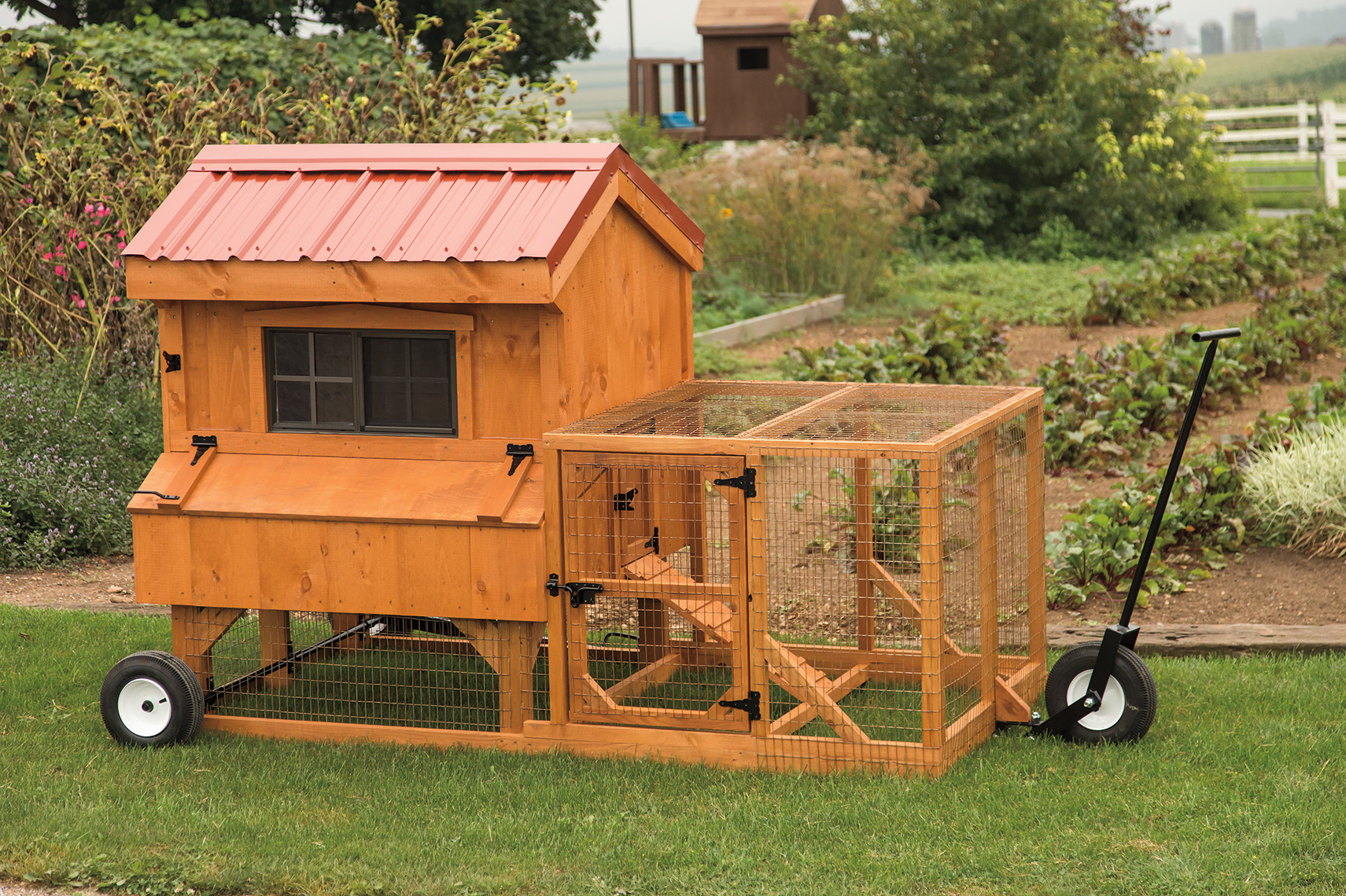 Backyard Chicken Coop Kit 3×4 combination style chicken coop kit w/ 4×4 run | backyard escapes