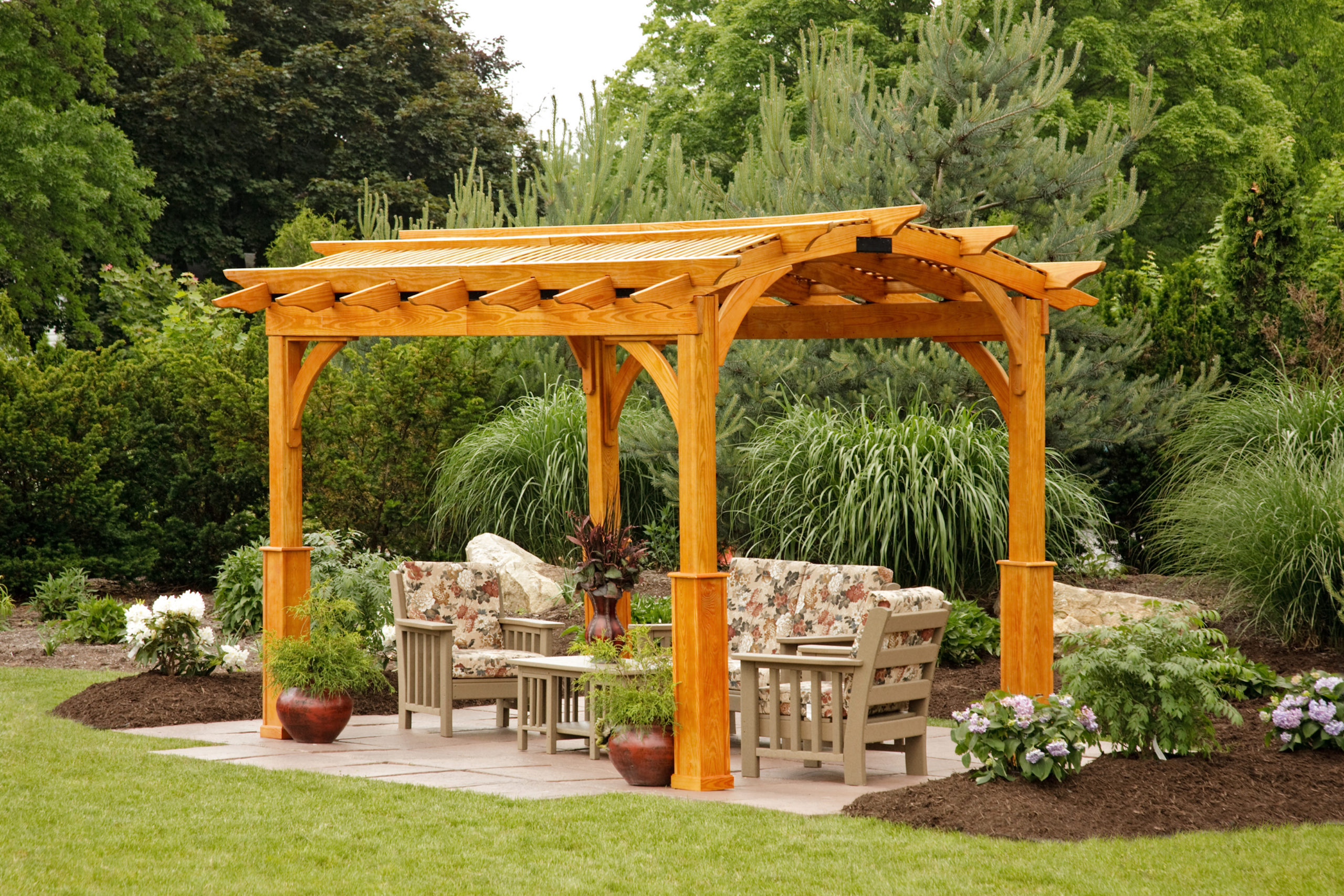 Check Out Our Wood & Vinyl Pergolas for Sale