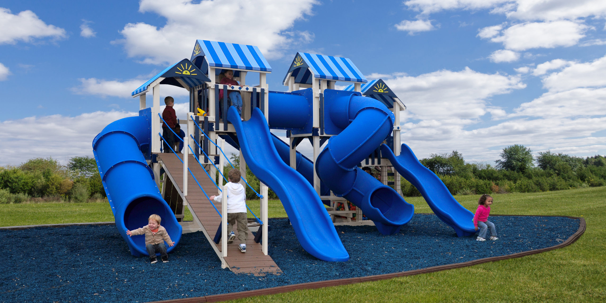 Our Vinyl Playsets Will Keep Your Kids Occupied for Years!