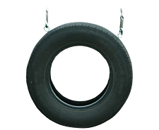 2 Rope Tire Swing (Black Color Only)