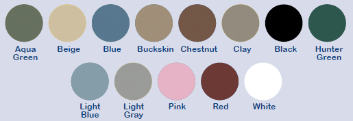 wooden color options